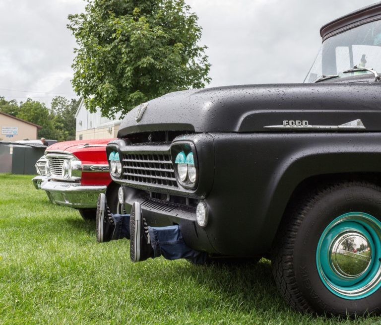 A photo of classic American automobiles taken by Don Harder, Associate Creative Director at CBD Marketing.