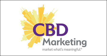 The CBD Marketing agency logo. CBD is a B2B and B2C marketing agency located in Chicago, IL.