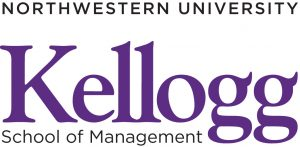 The logo of Northwestern University's Kellogg School of Management. CBD Marketing helped Kellogg boost their enrollment rate.