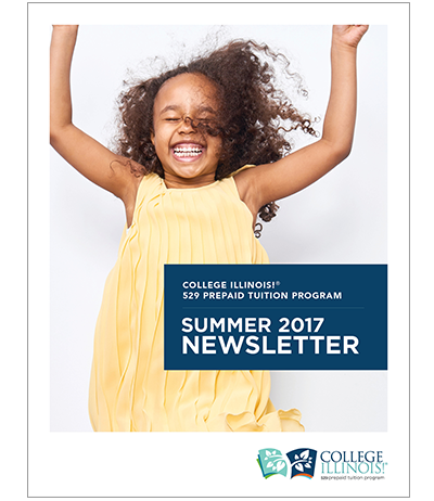 The College Illinois! Summer 2017 e-newsletter developed by CBD Marketing as part of an overarching campaign.