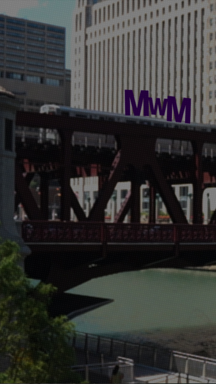 A background image of a CTA train, which is used on the homepage of the CBD Marketing website.