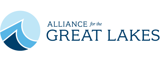 The Alliance for the Great Lakes (AGL) logo. AGL is an environmental organization dedicated to the protection of the Great Lakes.