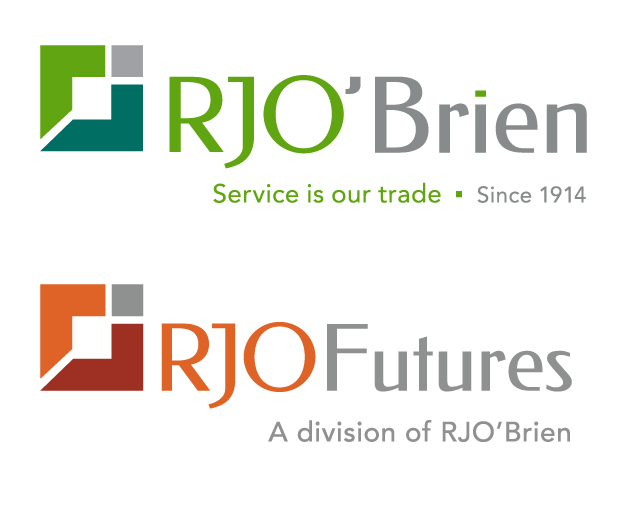 RJO'Brien and RJOFutures logos designed by CBD Marketing.