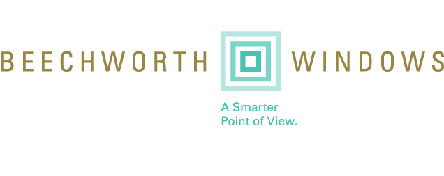 "Beechworth Windows' brand logo featuring their tagline, ""A Smarter Point of View."""