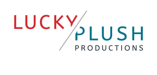 The Lucky Plush Productions (LPP) logo. LPP is a Chicago-based dance theater company.