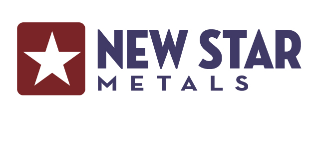 The New Star Metals logo. New Star Metals is a a leading flat-rolled steel processor and distributor.