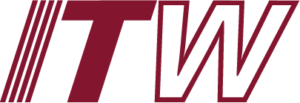 The logo Illinois Tool Works (ITW), a building products company.