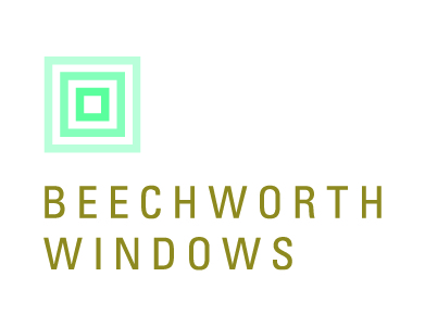 The logo for Beechworth Windows, a home products company.