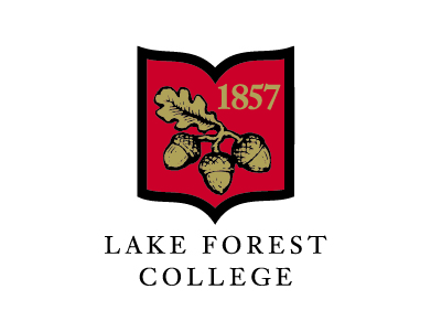 The logo for Lake Forest College, a higher education institution.