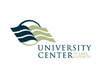 The logo for the University Center of Lake County, a higher education institution.