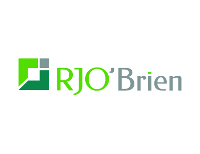 The logo for RJO'Brien, a financial services firm.