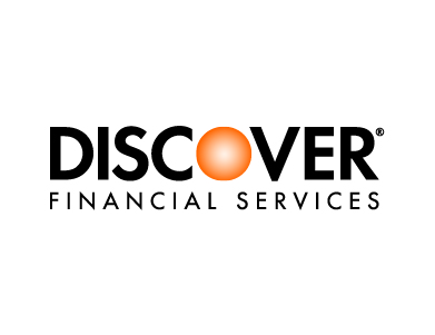 The logo for Discover Financial Services.