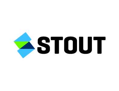 The logo for Stout Risius Ross, LLC. Stout is a leading valuation advisory, investment banking, dispute consulting and management consulting firm in the financial services industry.