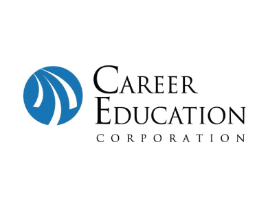 The logo for Career Education Corporation, a higher education institution.