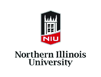 The logo for Northern Illinois University, a higher education institution.