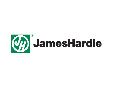 The James Hardie Building Products logo is shown here.