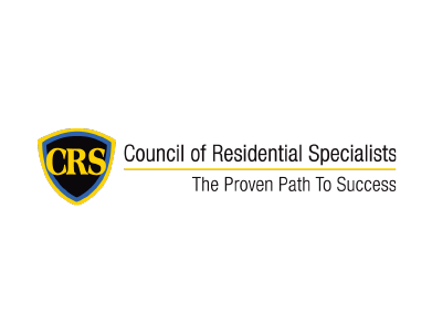 "The logo for the Council of Residential Specialists, a professional services organization. The tagline reads: ""The Proven Path to Success."""