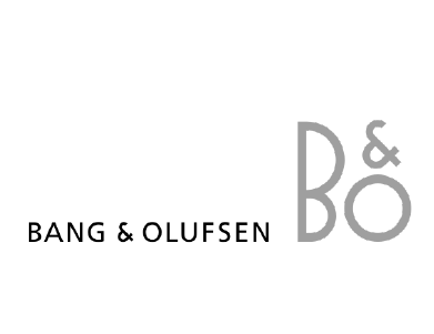 The logo for Bang & Olufsen, a technology company.