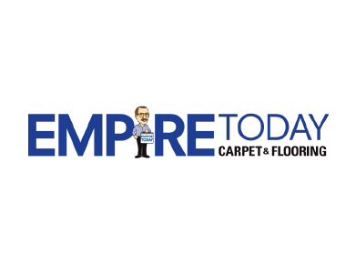 The logo for Empire Today, a home products company.