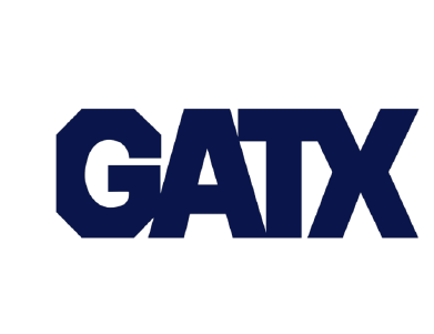 The logo for GATX, a manufacturing company.