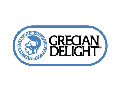 The logo for Grecian Delight, a food products company.