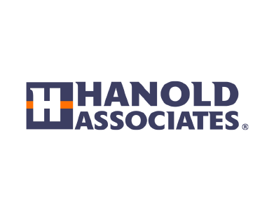 The logo for Hanold Associates, a professional services organization.