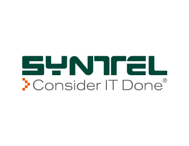 "The logo for Syntel, Inc., a U.S.-based multinational provider of integrated technology and business services. The tagline reads: ""Consider it done."""