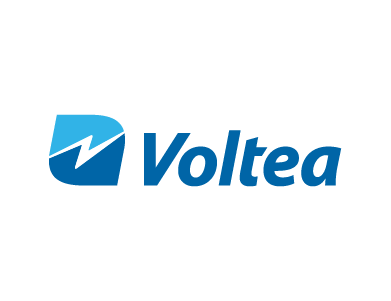 The logo for Voltea, a water technology company within the food and food ingredient industry.