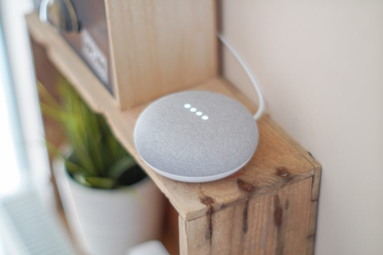 Google Assistant, a voice-controlled device shown here, has gained widespread popularity since the rise in demand for smart home technology.